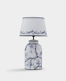 Orienta Blue-White Hand Painted Lamp